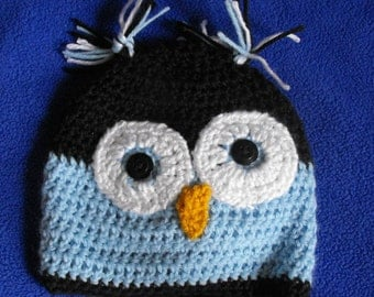 Made To Order Owl Beanie