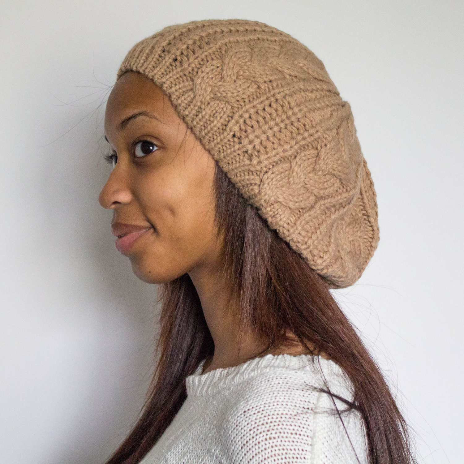 Satin Lined Beanies For Natural Hair
