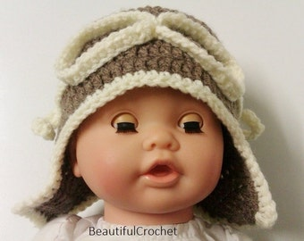 Hello everybody you can order this beautiful aviator hat it in all sizes and in your favourite colour.