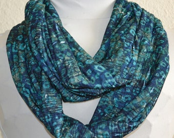 SALE Stretch Knit Infinity Scarf, Cowl Scarf, Circle Scarf Ready to Ship