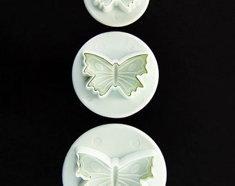 Butterfly Pattern Clay Cutters (Pkg of 3) By Lisa Pavelka  (MC1906)