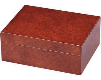Personalized Humidor, The Asti 15 Cigar Humidor, Groomsman Gift