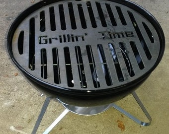 CUSTOMIZABLE Grill Insert Brand Your Meat Replacement BBQ Weber