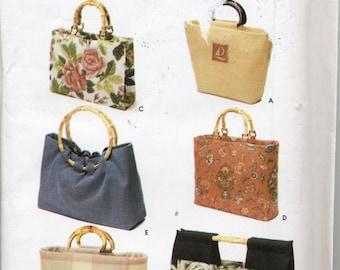 Simplicity 5541 Sewing Pattern Elaine Heigl Designs Bags in 6 Styles Uncut