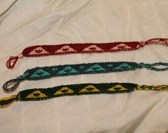 Legend of Zelda's Triforce Friendship Bracelet