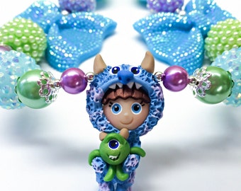 Monster Inc. Necklace Sully Necklace