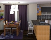 Online Interior Design Package - Kid-friendly Family Room
