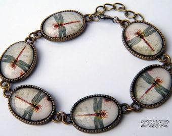 Beautiful dragonfly bracelet