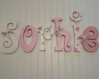 Hanging Wall Letters Interesting Nursery Decor Nursery Wall Decor Hanging Nursery Letters Inspiration Design