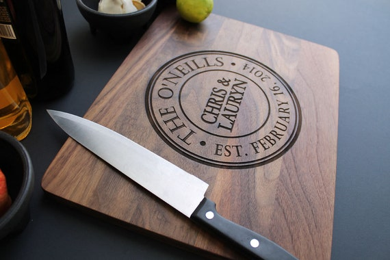 Cutting Board Personalized Cutting Board By Letsengraveit