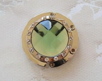Purse Hanger, Swarovski Crystal, Mirror