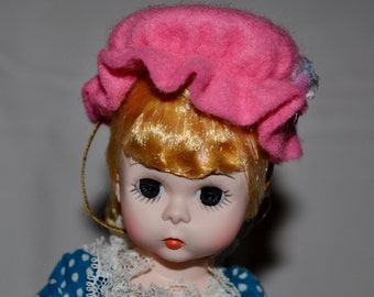 Vintage Madame Alexander ~ Miss Muffet ~ Doll in Orig.Box! #452 from Private Coll. * Little Tuffet Mother Goose Rhyme