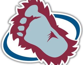 "Colorado Avalanche NHL Hockey sticker decal 4"" x 4"""