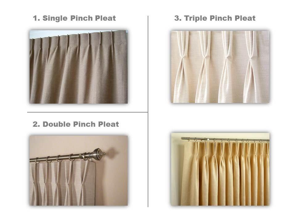 Drapes vs curtains - Handmade Drapery Pleat Upgrade To Listing Single By Eileendrapes