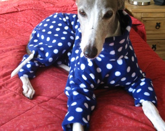 Blue Spotted Greyhound Pyjamas - Other colours available