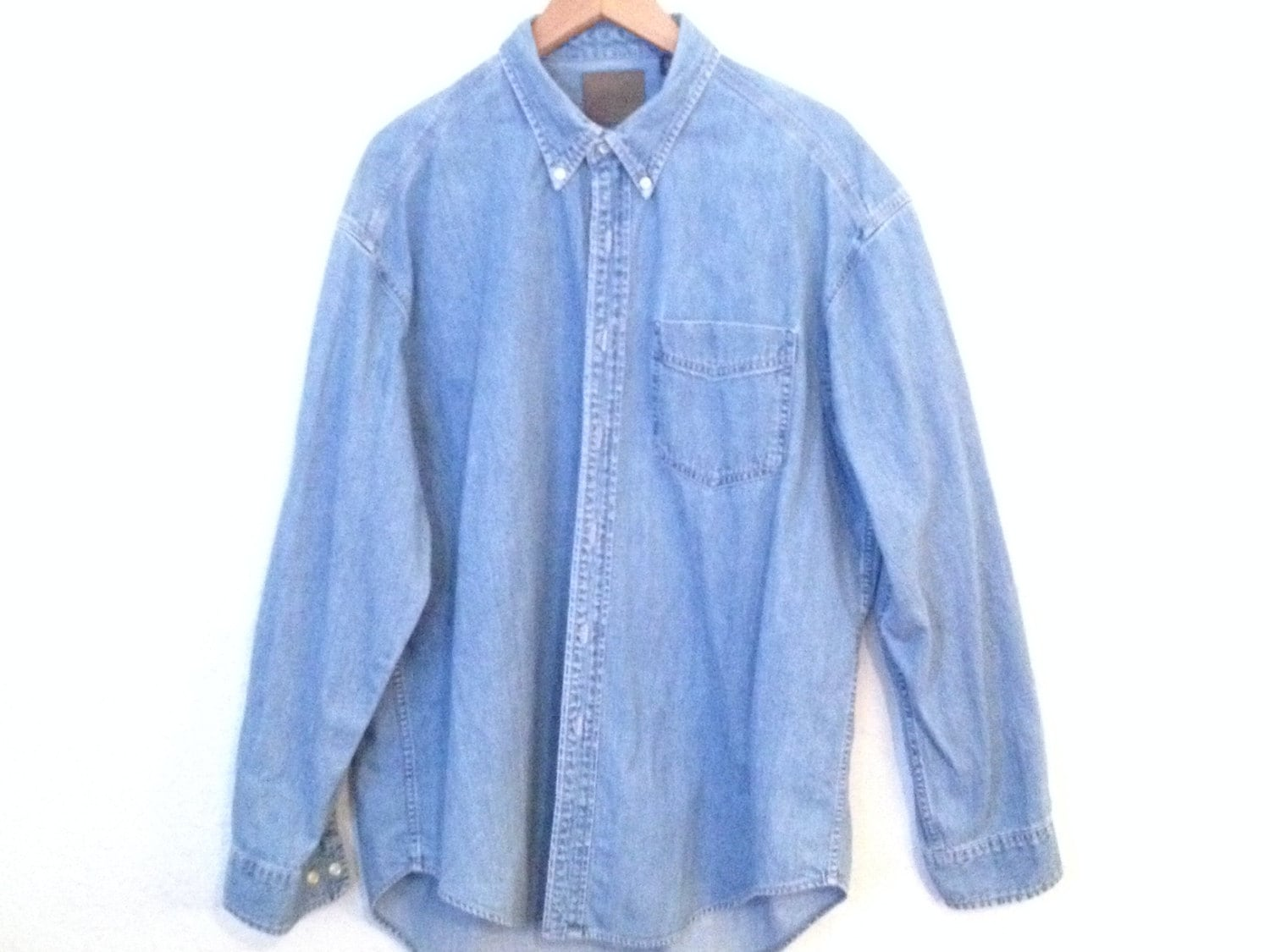 Find faded denim shirt from a vast selection of Clothing for Men. Get great deals on eBay!