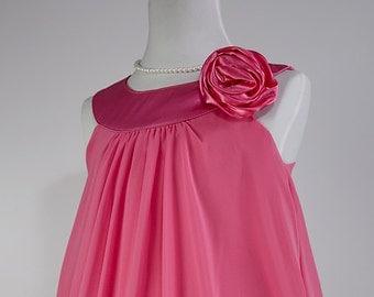 FUCHSIA Flower Girl Dress, Fuchsia Party, Special Occasion, Easter, Flower Girl Dress (ets0160fch)