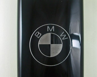 BMW Logo Flask, Engraved