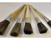 Chalk Supply Furniture Painting Brush- Sm.,Med., Lg., XL or XXL- Oval Mixed China Bristle
