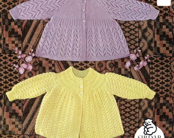 BABY MATINEE COAT PATTERNS Free Baby Patterns