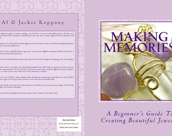 Beginners Guide To Making Jewelry, Making Memories, Free Shipping U.S, Wire Wrapping, Bead Embroidery,Metal Working,Job's Tears,Viking Weave