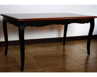 Black shaped Table