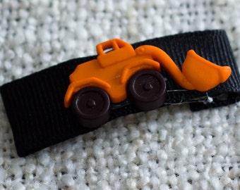 Car Excavator Snap Kippah Yarmulke Clip. Great for boys.