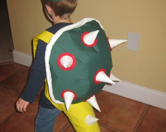Bowser inspired costume.