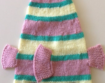 Dead Fish Knitted Handmade Hat