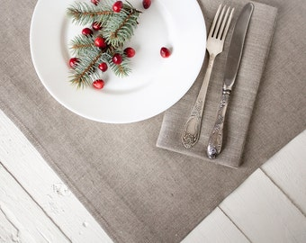 Linen tablecloth - Natural linen tablecloths - Rustic wedding tablecloth - Wedding table top - Linen table top