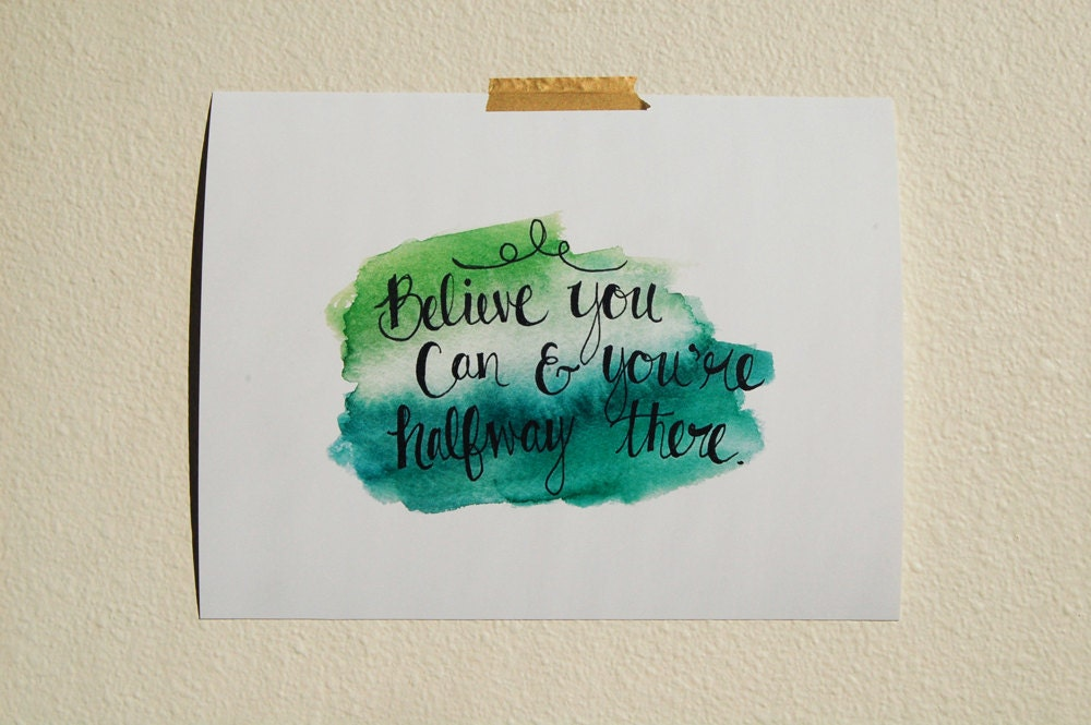 Sale hand lettering watercolor by ideasinturquoise on etsy