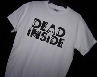 DEAD INSIDE Skull T Shirt