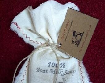 Goat Milk Soap Spearmint Eucalyptus