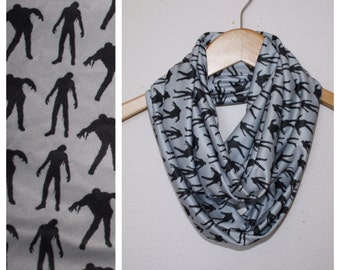 Only Five Dollars Walking Dead Infinity Scarf, Circle Scarf