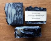 Activated Charcoal Tea Tree Oil Detox Soap // Cold Process Soap // Luxury Vegan Facial Soap // Essential Oil Soap