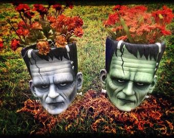 Frankenstein Flowerpots