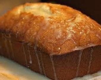 Homemade Lemon Bread/ sugar free bread/ gluten free bread/vegan bread/edible gifts/birthday/anniversary gifts/get well soon gifts