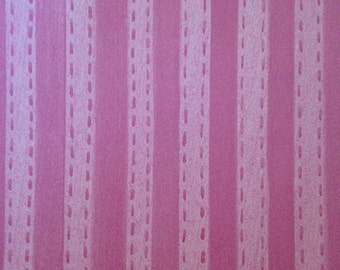 12x12 Hot Pink Stitched Stripe Paper