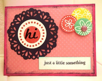 Doilies and Circles Card