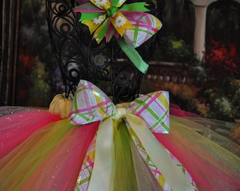 Girls Tutu, Infant Tutu, Baby Tutu, Tutu, Spring Tutu, Photo prop, Girls Skirt