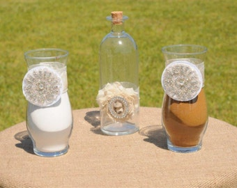 Sand Ceremony Jars, Wedding Decor