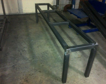 Steel Metal Bench/Coffee Table Frame - Any size & Color!
