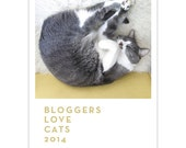 Bloggers Love Cats 13-month Calendar