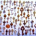 68 Bulk Lot Skeleton Keys Vintage Antique Look Replica Charms Jewelry Steampunk Wedding Bead Supplies Pendant  Collection Reproduction Craft