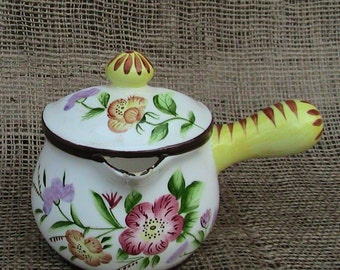 Grease Separator Hand Painted Japan HousewaresHome Decor Kitchenware