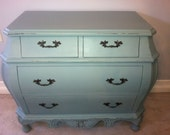 Gorgeous Handpainted Bombe Chest - BeautybyIngala
