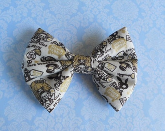 Sweet Lolita hair bow alice in wonderland