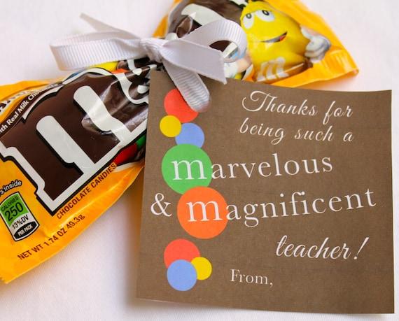...Back to SchoolM&Ms Candy Gift TagsInstant Download PDF File