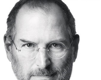 "Motivational Poster Steve Jobs ""Think Different"""