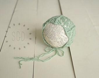 Newborn Wishbone Bonnet - More Colors Available